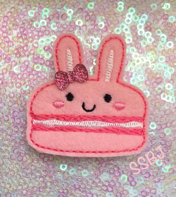 SSBJ Macaron Bunny Embroidery File