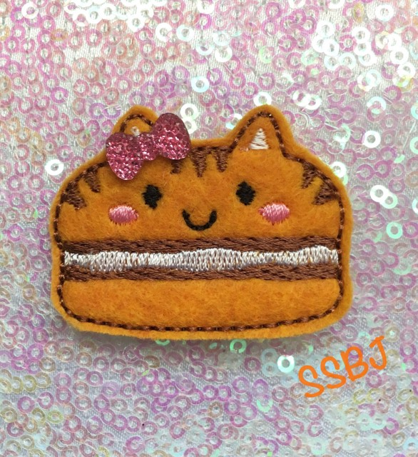 SSBJ Macaron Tiger/Cat Embroidery File