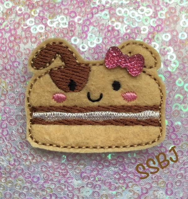 SSBJ Macaron Dog Embroidery File
