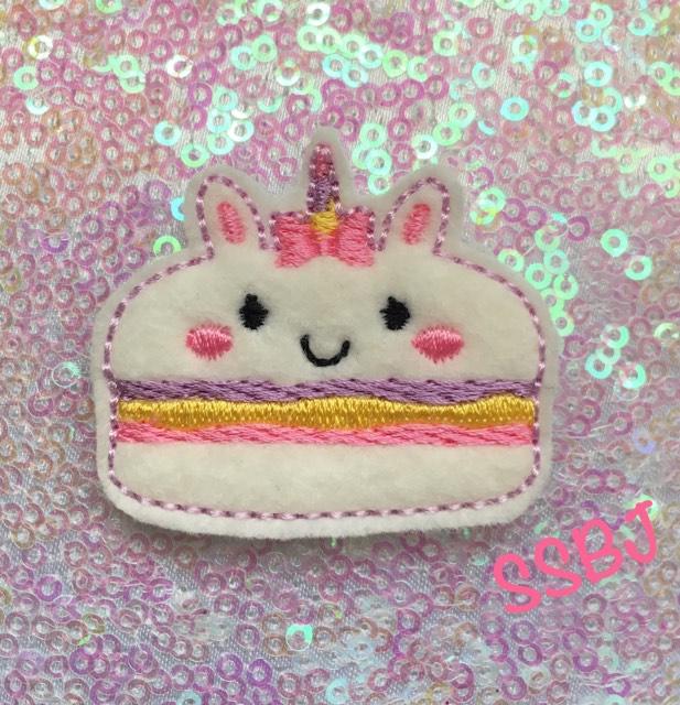 SSBJ Macaron Unicorn Embroidery File