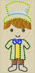 SS Mad Hat Boy Embroidery File