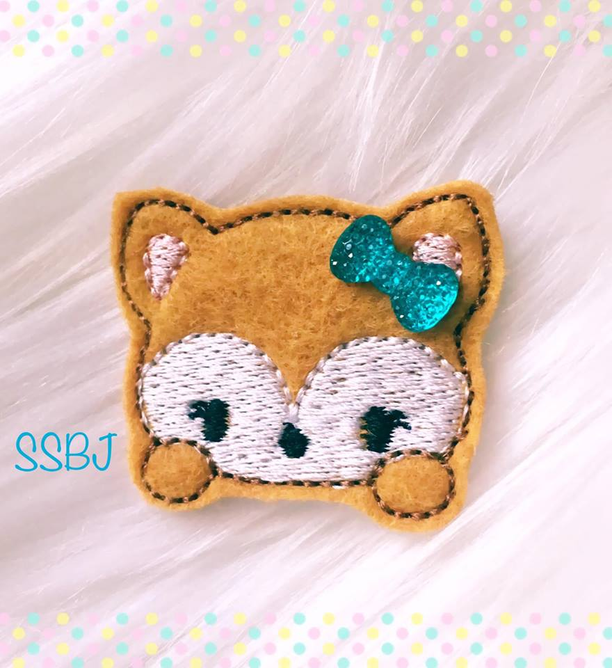 SSBJ Magical Fox Embroidery File