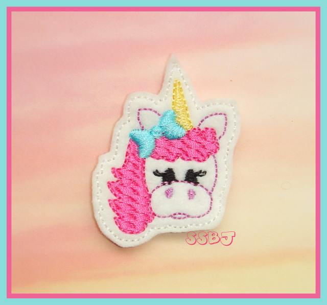 Magical Unicorn Filled Embroidery File