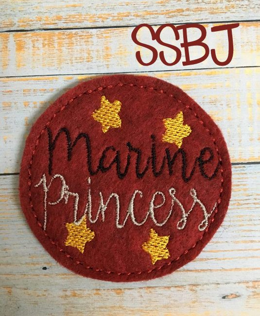 SSBJ Marine Princess Embroidery File