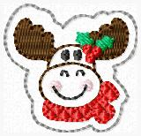Marty Moose Embroidery File