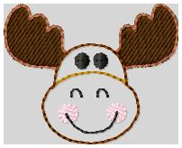 Marty Moose 2 Embroidery File