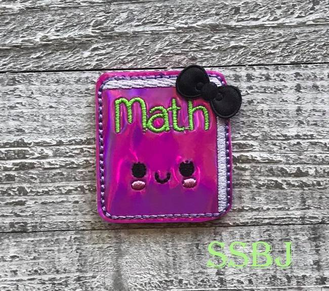 SSBJ Math Book Embroidery File