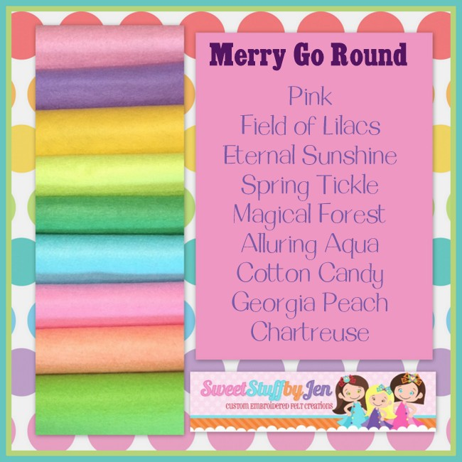 Merry Go Round Variety Felt Pack