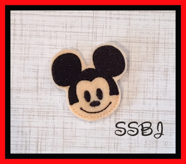 SSBJ Mickey Blitz Embroidery File