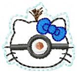 Minion Kitty Embroidery File