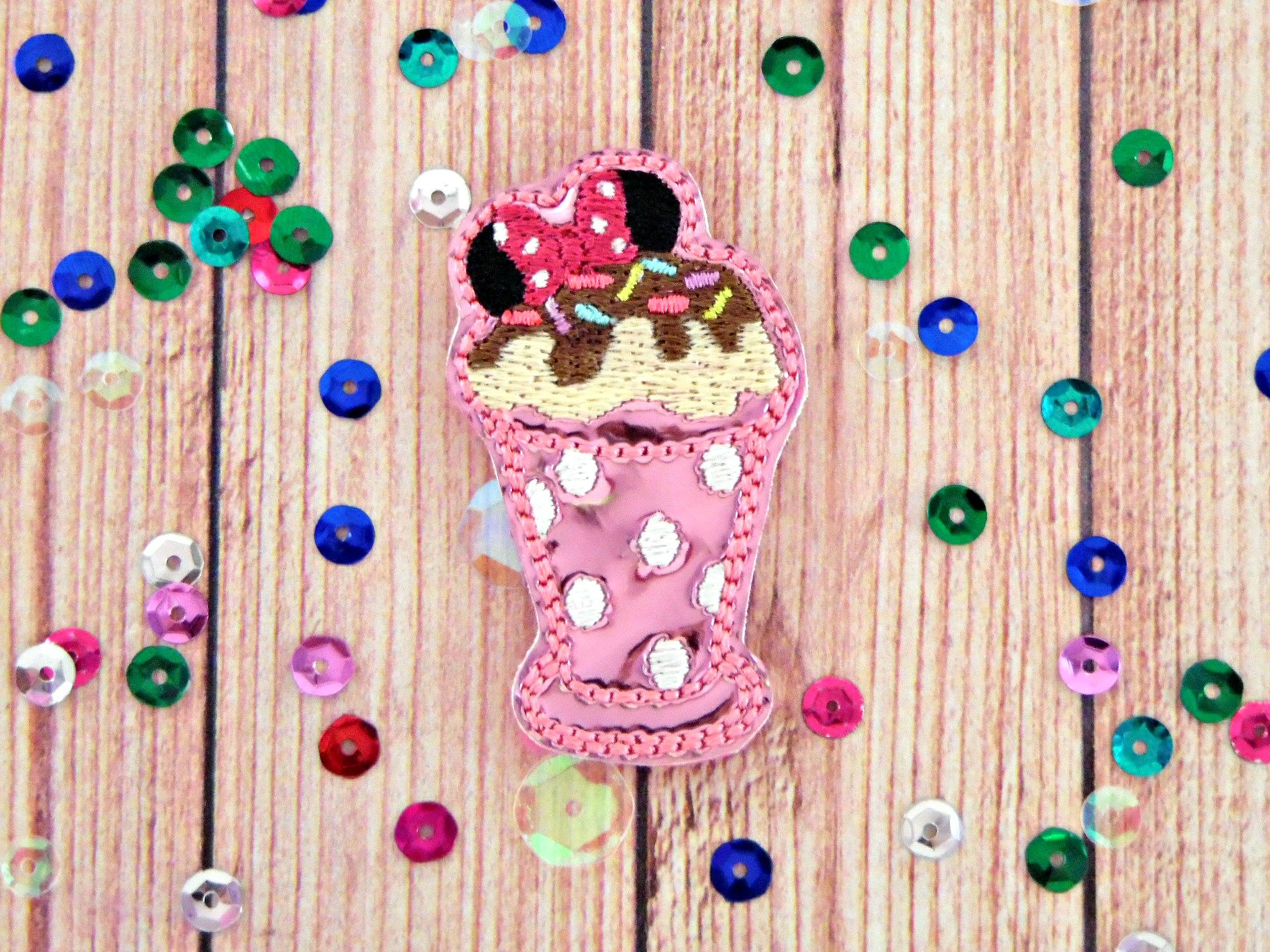 SSBJ Minnie Sundae Embroidery File