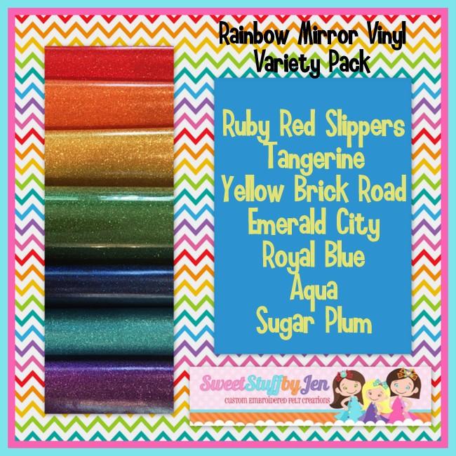 Rainbow Vinyl Variety Pack