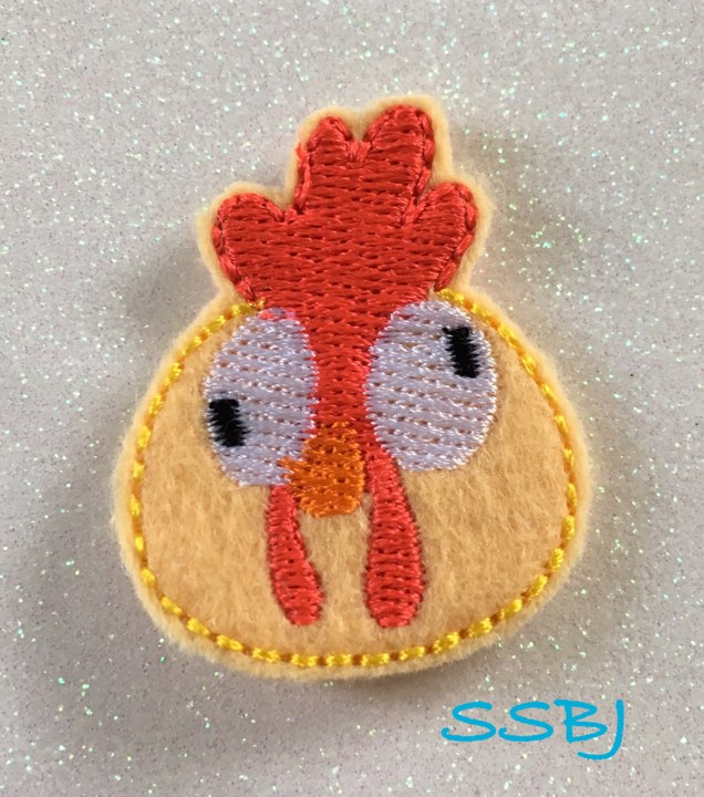 SSBJ Hei Hei Moana Embroidery File
