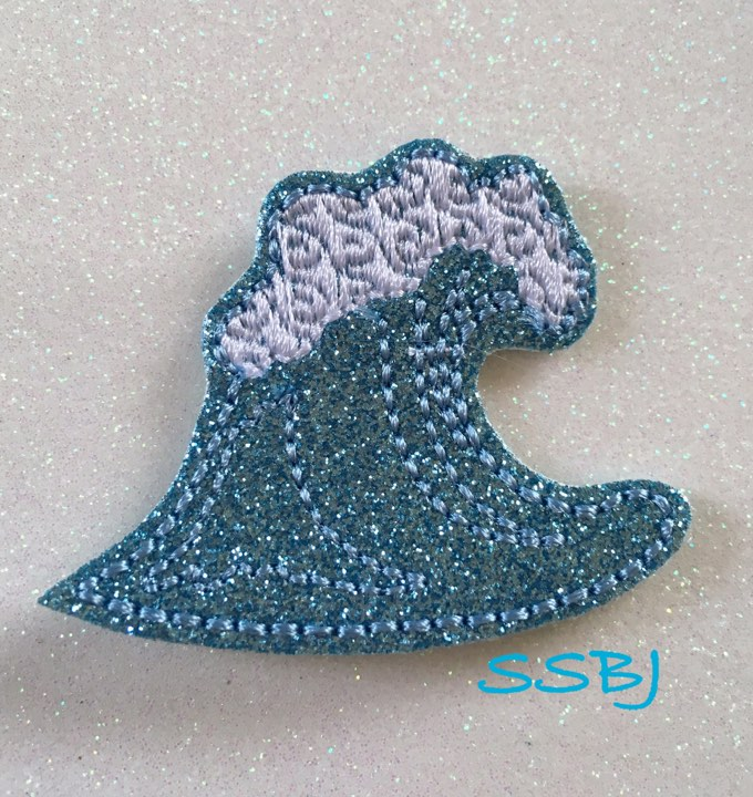 SSBJ Moana Wave Embroidery File