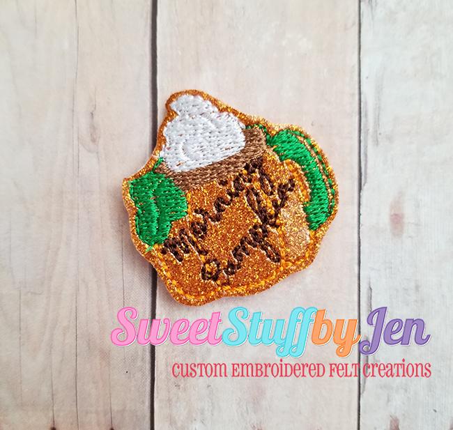 SSBJ Morning Pumpkin Latte Embroidery File