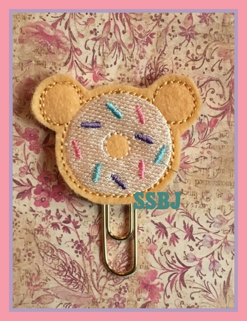 SSBJ Mouse Donut Embroidery File