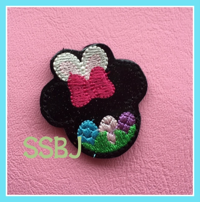SSBJ Easter Mouse Embroidery File