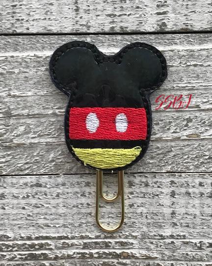 SSBJ Mr Mouse Egg Embroidery File