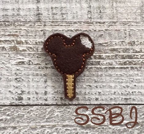 SSBJ Mouse Ice Cream Bar Embroidery File