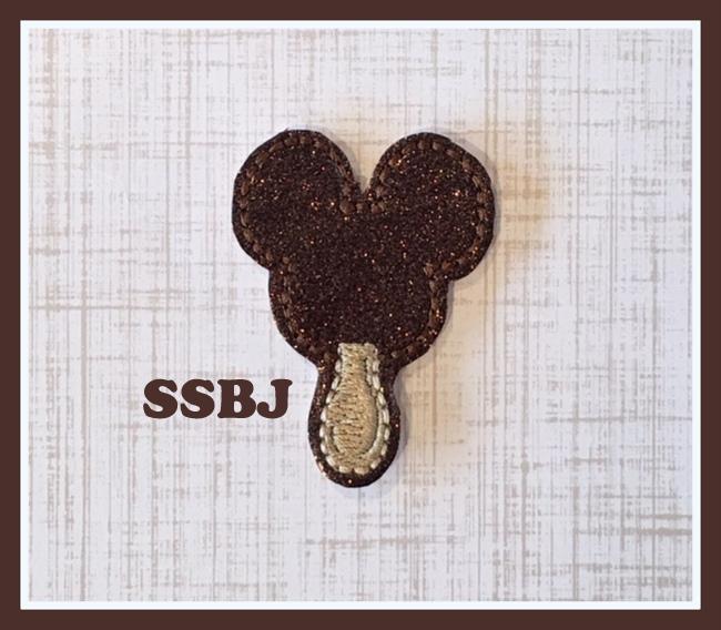 Mickey Ice Cream Cone Embroidery File