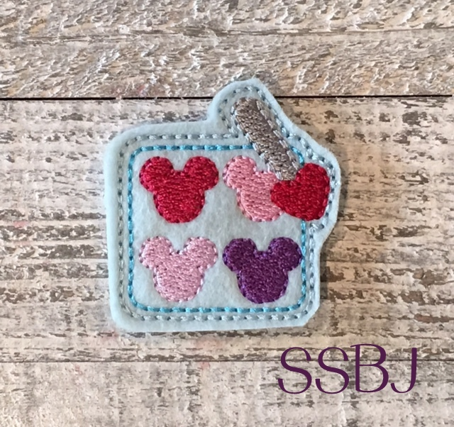 SSBJ Mouse Makeup Palette Embroidery File
