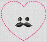 Mr Love Embroidery File