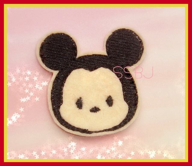 Mr Mouse Tum Embroidery File