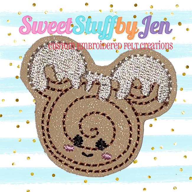 SSBJ Mr Mouse Cinni Bun Embroidery File