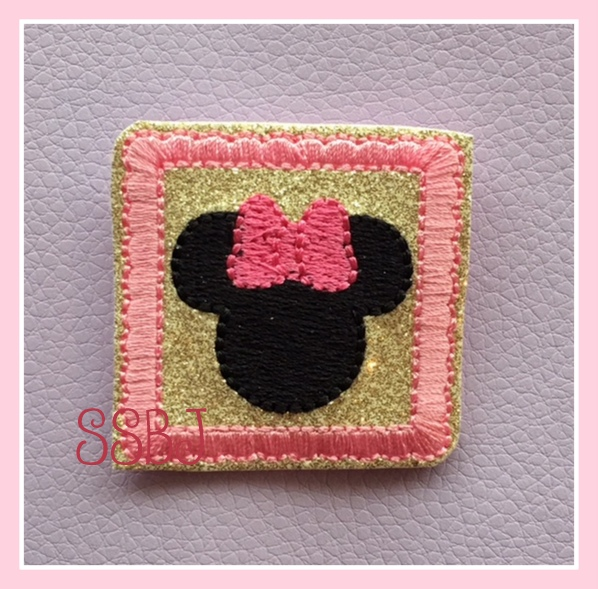 SSBJ Magical Planner Mrs Mouse Embroidery File
