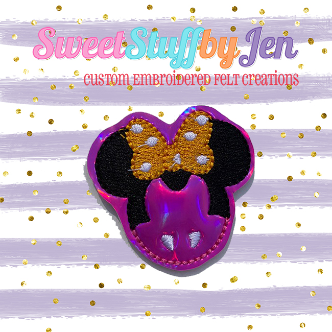 SSBJ Mrs Mouse Drac Embroidery File