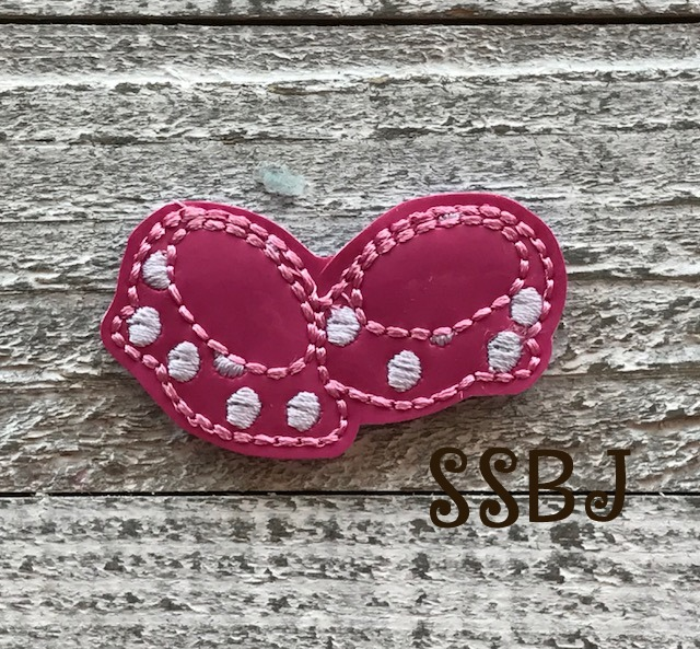 SSBJ Mrs Mouse Minnie Shoes Embroidery File