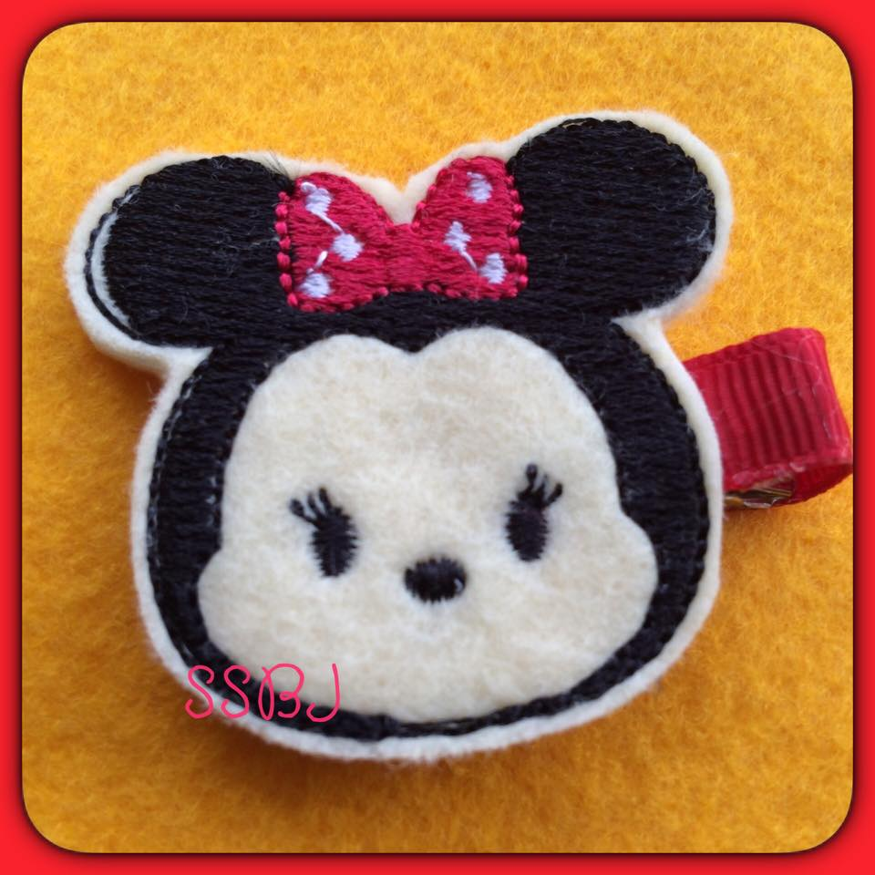 Mrs Mouse Tum Embroidery File