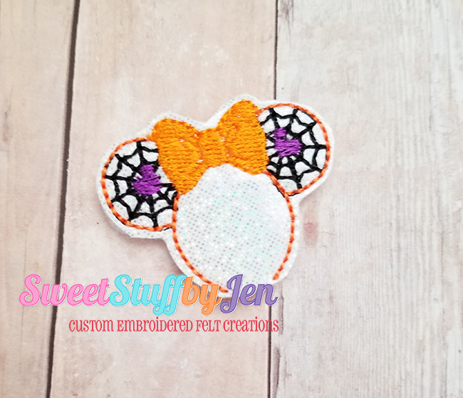 SSBJ Mrs Mouse Web Ears Embroidery File