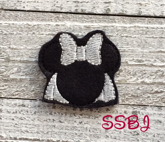 SSBJ Mrs Mouse Gown Embroidery File
