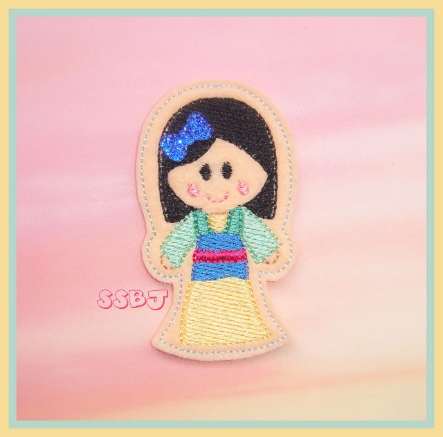 Mulan Embroidery File
