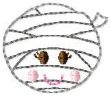 LaLa Mummy Embroidery File