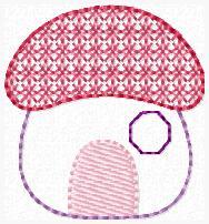 Mushroom Hideaway Embroidery File