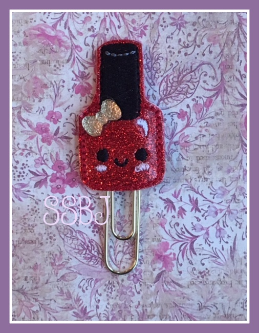 SSBJ Nail Polish Embroidery File