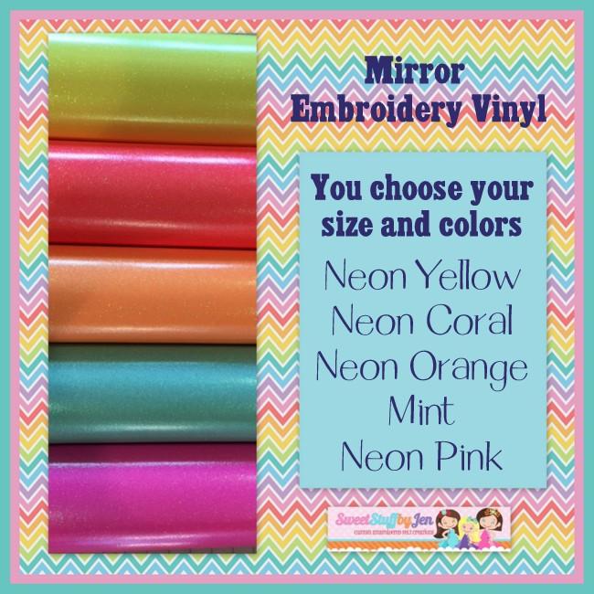 Neon Mirror Vinyl
