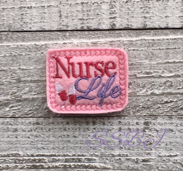 SSBJ Nurse Life Embroidery File