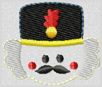 Nutcracker Embroidery File-FILLED