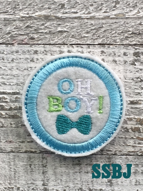 SSBJ Oh Boy! Embroidery File