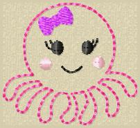 Olive Octo Embroidery File