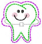 Ortho Teeth Embroidery File