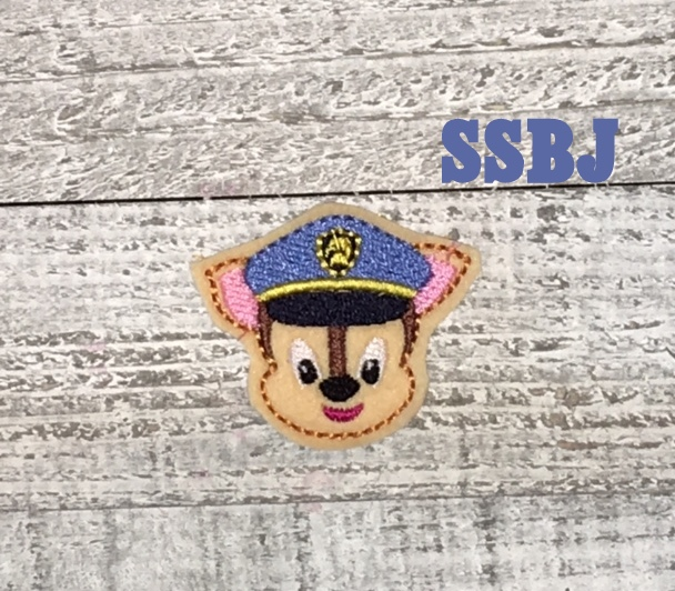 SSBJ Paw Patrol Chase Embroidery File