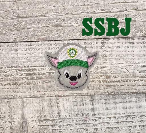 SSBJ Paw Patrol Rocky Embroidery File