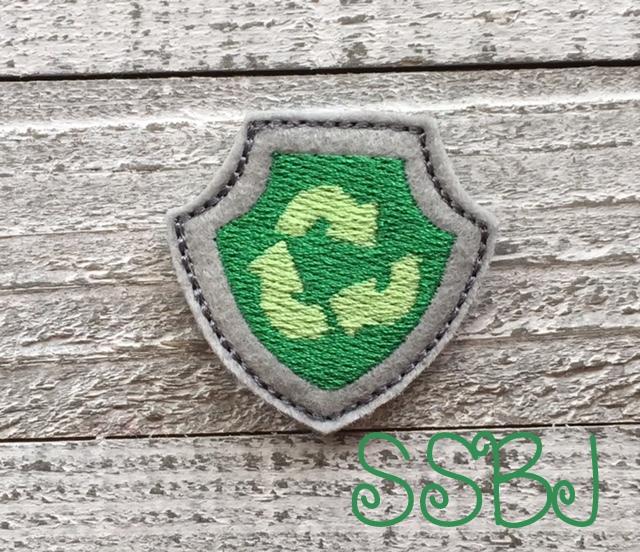 SSBJ Paw Patrol Shield Eco Embroidery File