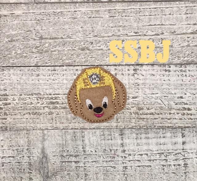 SSBJ Paw Patrol Zuma Embroidery File