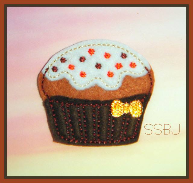 Pumpkin Spice Muffin Embroidery File