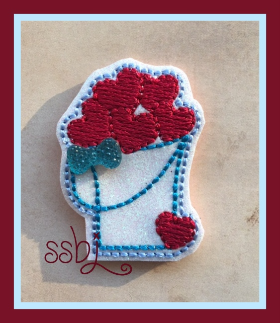 SSBJ Pail of Hearts Embroidery File